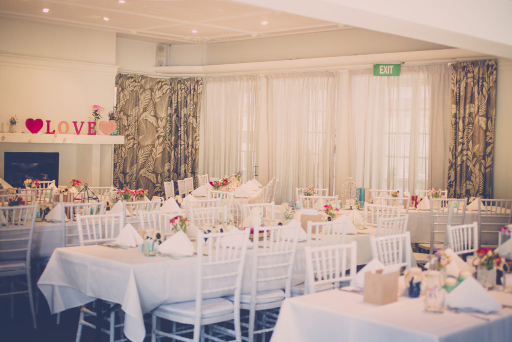Wintergarden Pavilion Wedding in the Nikau Room