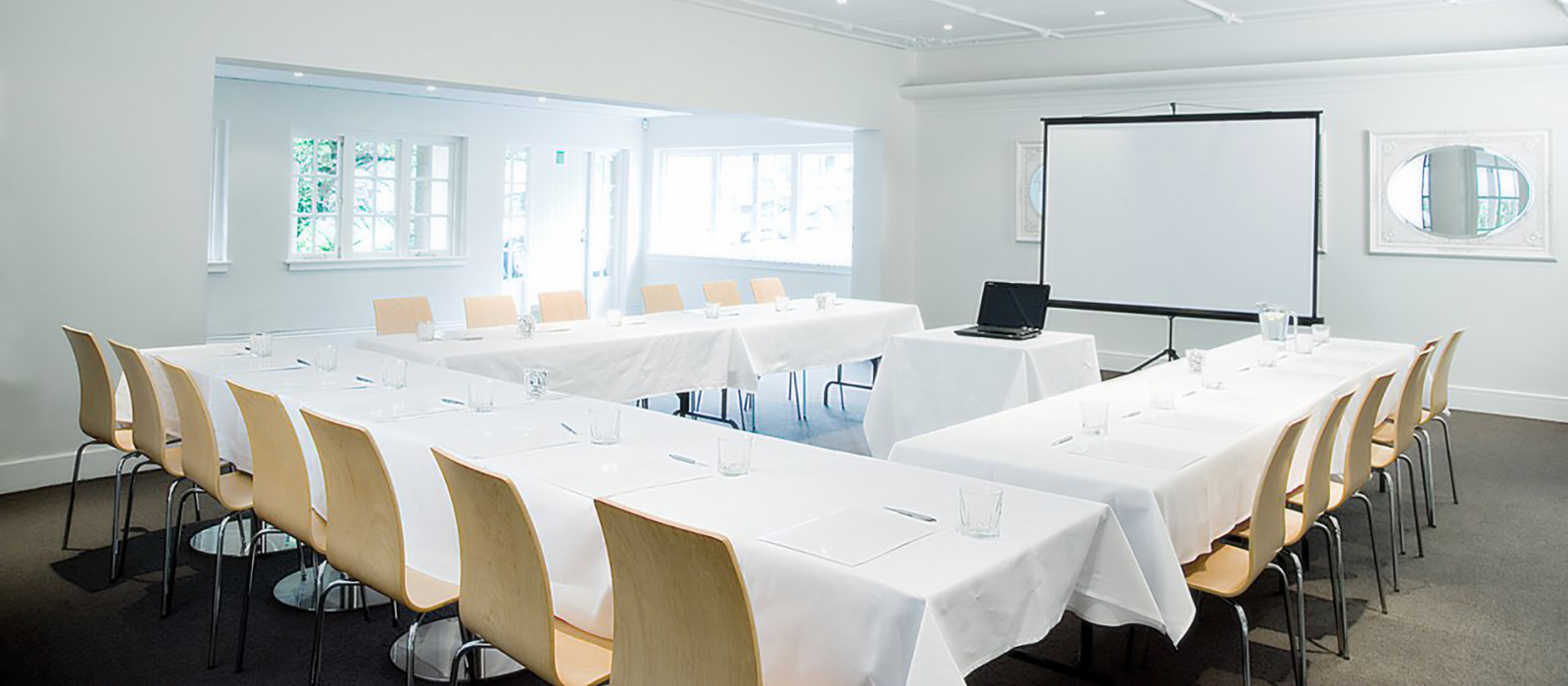 Business Events at the Wintergarden Pavilion // Nikau Room