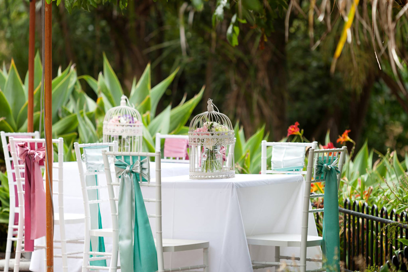 Private Event at the Wintergarden Pavilion, Dining Alfresco