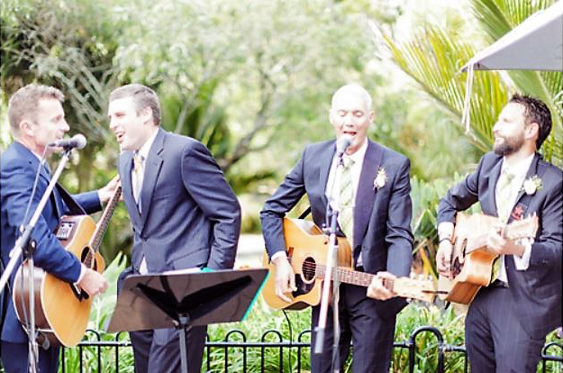 Wintergarden Pavilion Wedding, Outdoor Entertainment