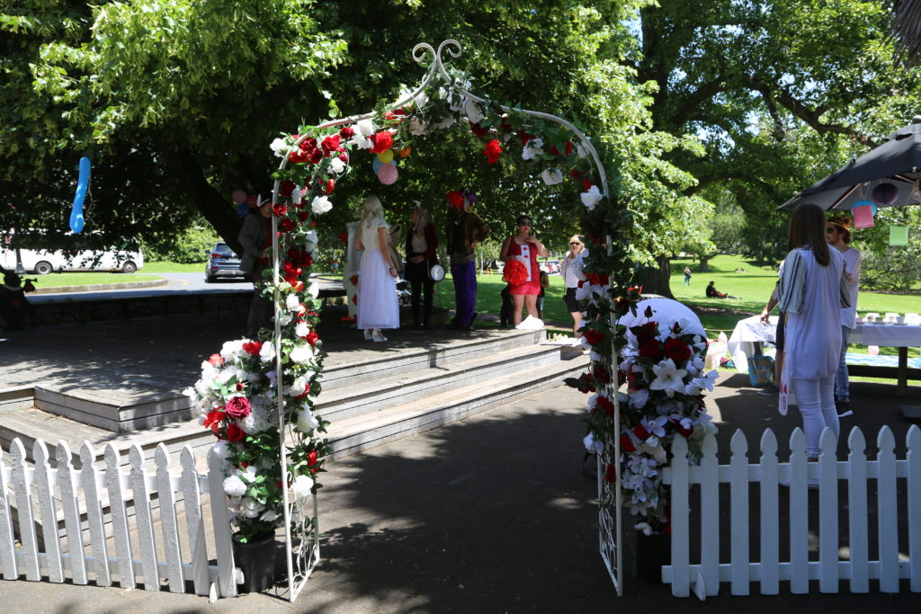 Private Event at the Wintergarden Pavilion, Alice in Wonderland